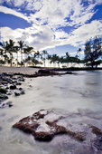 Kukio Beach afternoon, Kona coast, Big Island, Hawaii