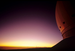 Keck Observatory at sunset, Mauna Kea, Big Island, Hawaii
