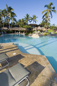 Hualalai Resort pool, Kona Coast, Big Island, Hawaii