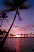 Anaeho'omalu Bay Sunset, South Kohala, Big Island, Hawaii