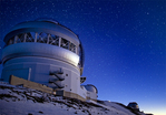 Gemini Observatory at twilight, Mauna Kea summit, Big Island, Hawaii
