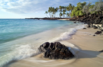 Mahaiula beach scenic, Kona coast, Big Island, Hawaii