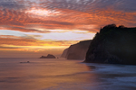 Pololu Coast at sunrise, Big Island, Hawaii
