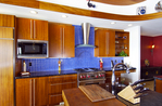 Upscale Custom Home Kitchen, Big Island, Hawaii