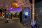 Imiloa Astronomy Center Interior view, Hilo, Big Island, Hawaii