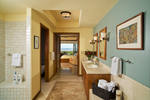 Hualalai Resort Golf Villa Master Bath, South Kohala, Big Island, Hawaii