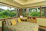 Hualalai Resort Golf Villa Bedroom, South Kohala, Big Island, Hawaii