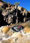 Wild Whitewater Action -- Salt River Canyon, Wild and Scenic, Tonto National Forest, Arizona