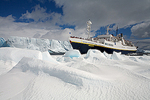 Expedition ship National Geographic Endeavour, Weddell Sea, Antarctica