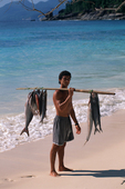 Local Fisherman, Catch of the Day, Mahe Island, Seychelles, Indian Ocean