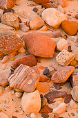 River Rocks at Hance Rapid, Grand Canyon National Park, Arizona