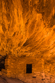 House on Fire ruin on Bureau of Land Management land in the South Fork of Mule Canyon in the (proposed, as of 2016) Bears Ears National Monument, near Blanding, Utah, USA