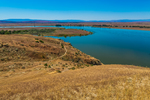 View of Columbia River in Hanford Reach National Monument, Columbia River Basin, Washington State, USA