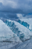 Crevasses in Matanuska Glacier, northeast of Anchorage, Alaska, USA