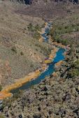Rio Grande in the Wild Rivers Area of Rio Grande del Norte National Monument near Taos, New Mexico, USA
