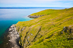 The beautiful headlands of Round Island, Walrus Islands State Game Sanctuary, Bristol Bay, Alaska, USA, July, AK_Round_Island-1520