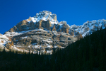 Mount Huber in morning light in Yoho National Park, British Columbia, Canada, Yoho_National_Park-223