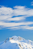 Clouds above the snowy North Cascade Mountains viewed from Artist Point, Mt. Baker-Snoqualmie National Forest, North Cascade Mountains, Washington State, USA, Artist_Point-202