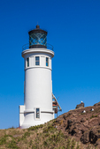 Anacapa Island Lighthouse on East Anacapa Island, Channel Islands National Park, Callifornia, USA