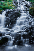 An unnamed waterfall on Killen Creek along the Pacific Crest Trail in the Mt. Adams Wilderness, Gifford Pinchot National Forest, Cascade Mountains, Washington State, USA