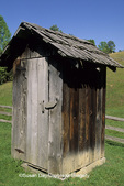 67395-01319 Outhouse at Pioneer farm Twin Falls State Park Mullens   WV