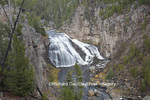 67545-09711 Gibbon Falls at Yellowstone National Park, WY