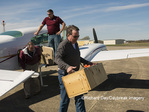 00842-06305 Transporting Greater Prairie-Chickens (Tympanuchus cupido) from airplane from Kansas to be released in Marion Co. IL