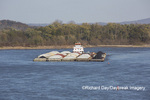 65095-02214 Barge (Washington) on Mississippi River at Cape Girardeau, MO