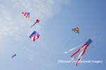 63495-02706 Kites flying at Flagler Beach Flagler Beach, FL