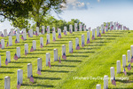 65095-02805 Gravestones at Jefferson Barracks National Cemetery St. Louis, MO