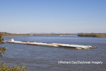 65095-02211 Barge (Washington) on Mississippi River at Cape Girardeau, MO