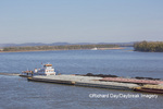 65095-02220 Barge (Washington) on Mississippi River at Cape Girardeau, MO