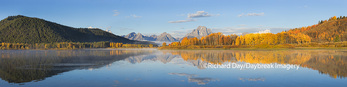 67545-08904 Sunrise at Oxbow Bend in fall, Grand Teton National Park, WY