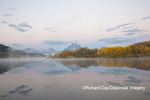 67545-09302 Sunrise at Oxbow Bend in fall; Grand Teton National Park; WY