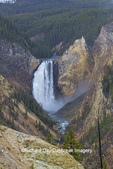 67545-09802 Lower Falls from Artist Point,  Yellowstone National Park, WY