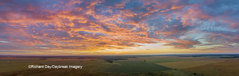 63893-03514 Sunrise aerial view Marion Co. IL