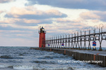 64795-02419 South Haven Lighthouse early morning South Haven,  MI