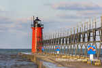 64795-02507 South Haven Lighthouse early morning South Haven,  MI