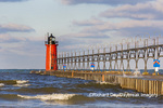 64795-02509 South Haven Lighthouse early morning South Haven,  MI