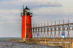 64795-02513 South Haven Lighthouse early morning South Haven,  MI