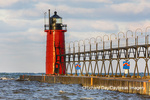 64795-02515 South Haven Lighthouse early morning South Haven,  MI
