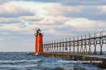 64795-02520 South Haven Lighthouse early morning South Haven,  MI