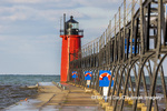 64795-02604 South Haven Lighthouse early morning South Haven,  MI