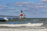 64795-02708 St. Joseph North Pier Lighthouses St. Joseph, MI