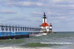 64795-02710 St. Joseph North Pier Lighthouses St. Joseph, MI