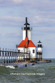 64795-02807 St. Joseph North Pier Lighthouses St. Joseph, MI