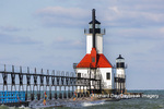 64795-02809 St. Joseph North Pier Lighthouses St. Joseph, MI