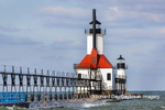 64795-02810 St. Joseph North Pier Lighthouses St. Joseph, MI