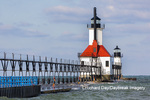 64795-02812 St. Joseph North Pier Lighthouses St. Joseph, MI