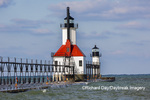 64795-02816 St. Joseph North Pier Lighthouses St. Joseph, MI